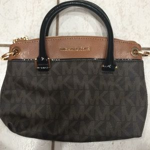 Michael Kors brown mini style bag